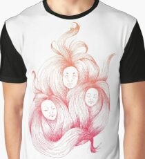 Japanese hair ghosts.  Graphic T-Shirt