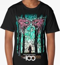 The 100 - Stained Glass Artwork Long T-Shirt