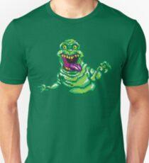 Ghostbusters Slimer Pixel Art T-Shirt