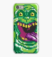 Ghostbusters Slimer Pixel Art iPhone Case/Skin