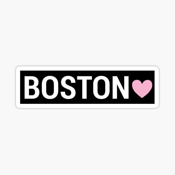 Boston Sign Sticker