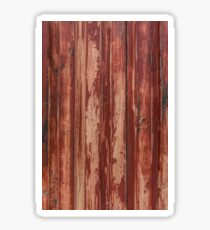 Painted Corrugated Texture Sticker