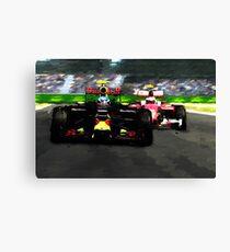 Max Verstappen - Win number 1 Canvas Print