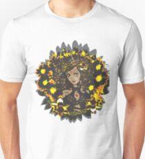Leo-Queen of Flames Unisex T-Shirt