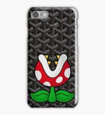 Goyard Piranha Plant iPhone Case/Skin