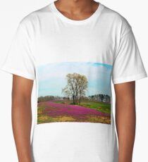 A Colorful Field Long T-Shirt