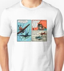 Flat Earth Comics - You'd Fly Off the Globe Unisex T-Shirt
