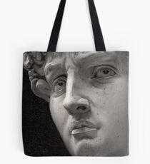 Michelangelo David Oil Painting Tote Bag