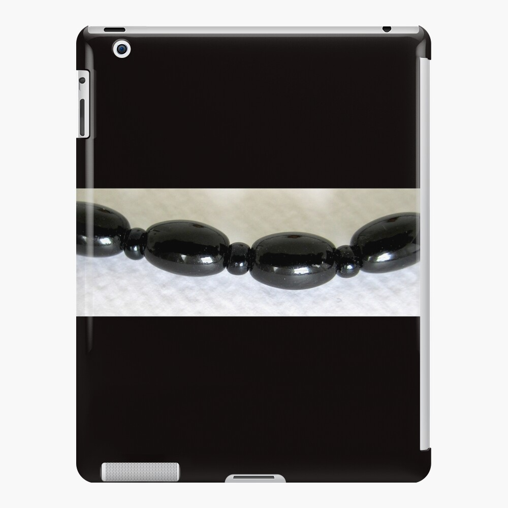Black beads design iPad Case & Skin