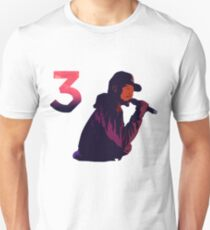 Chance The Rapper Three 3 Unisex T-Shirt
