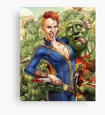 Super Mutant Party Canvas Print