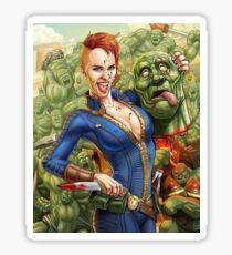 Super Mutant Party Sticker
