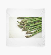 A close up image of fresh asparagus Scarf