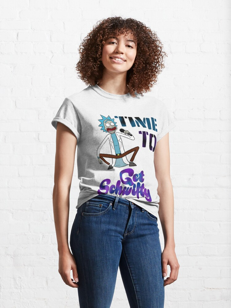 Alternate view of Time To Get Schwifty Classic T-Shirt