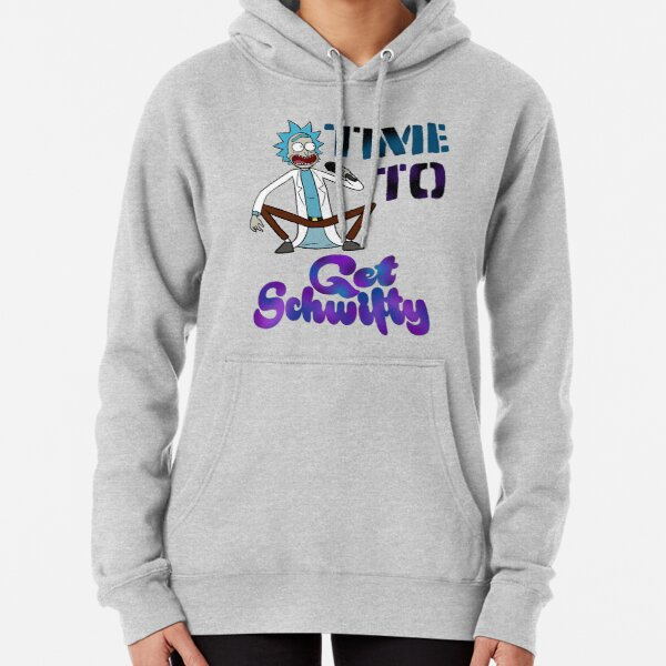 Time To Get Schwifty Pullover Hoodie