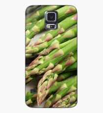 A close up image of fresh asparagus Case/Skin for Samsung Galaxy