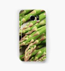 A close up image of fresh asparagus Samsung Galaxy Case/Skin