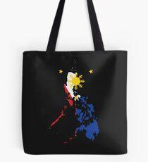 Philippinische Karte Philippinen Flagge Tote Bag