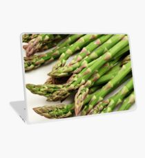 A close up image of fresh asparagus Laptop Skin