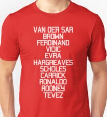 MUFC Champions League 2008 Unisex T-Shirt