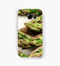 A close up image of fresh asparagus Samsung Galaxy Case/Skin