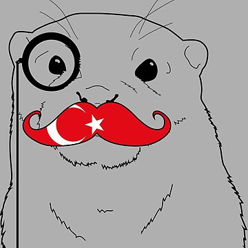 Mustache Flag Turkey by otterglot