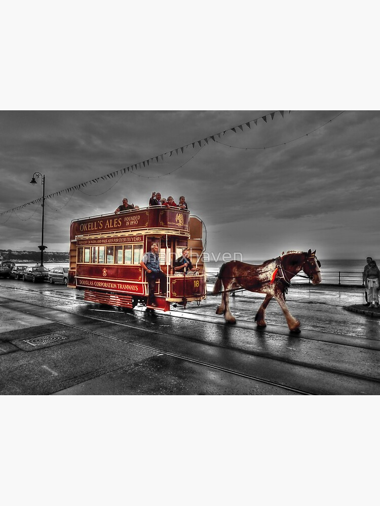 Taking Tram on the Prom by manxhaven