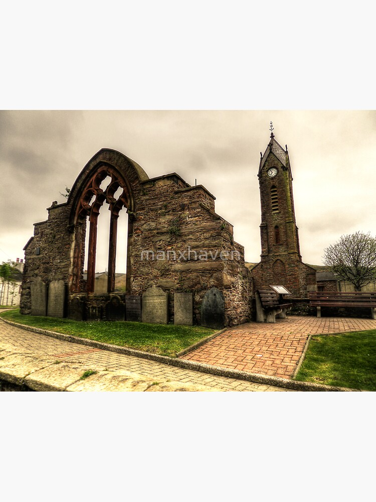 Peel Cathedral  by manxhaven