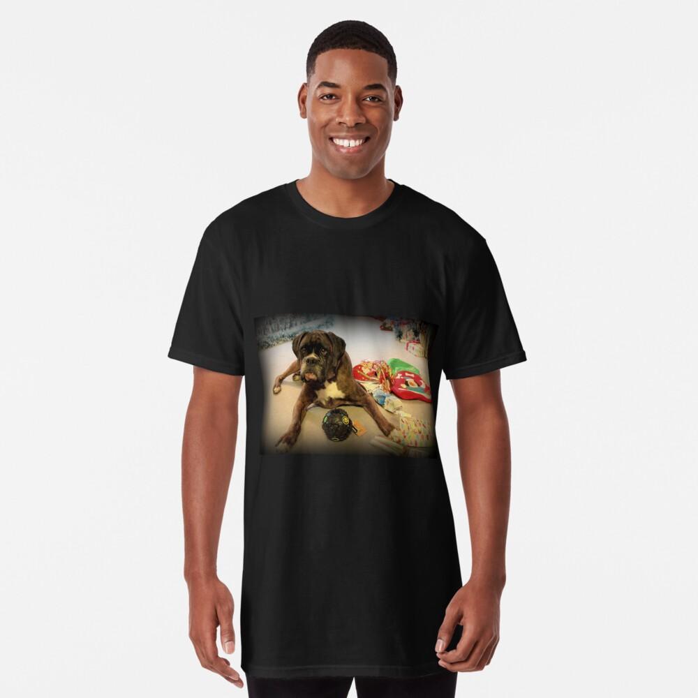 Ist das ein anderes Weihnachtsgeschenk für mich? - Boxer-Hunde-Reihe Longshirt