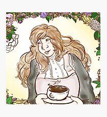 Flower Cafe Jaehee Photographic Print
