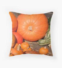 November's Bounty Throw Pillow