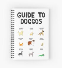 Guide to Doggos Spiral Notebook