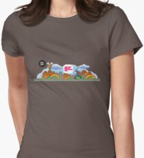 The great outdoors Women's Fitted T-Shirt