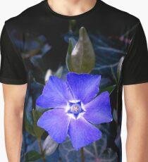 West Coast Gardens: Vibrant Vinca Graphic T-Shirt