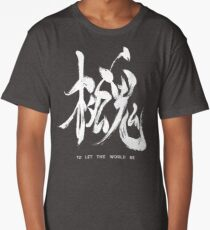 To Let The World Be - Silver Edition Long T-Shirt