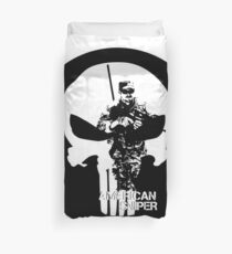 AMERICAN SNIPER CHRIS KYLE DEVIL OF RAMADI THE LEGEND NAVY SEAL Duvet Cover