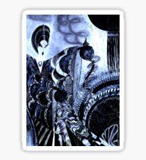 midnight opium geisha, Jacqueline Mcculloch ,House of Harelequin Sticker