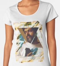 Terence McKenna Prism Psychedelic Graphic Art Women's Premium T-Shirt
