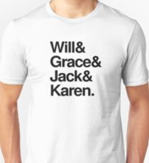 Will and Grace Unisex T-Shirt
