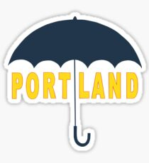 Portland Umbrella Sticker