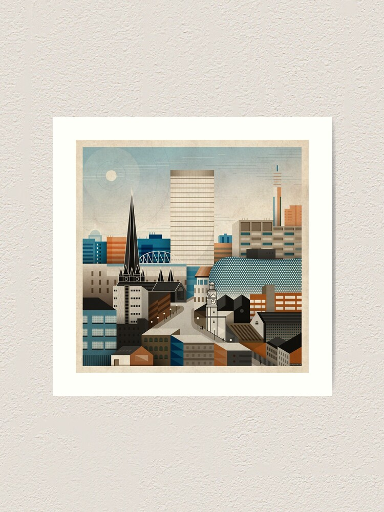 Alternate view of From Digbeth With Love Art Print