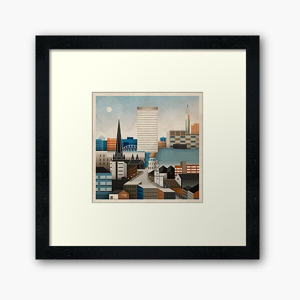 From Digbeth With Love Framed Art Print