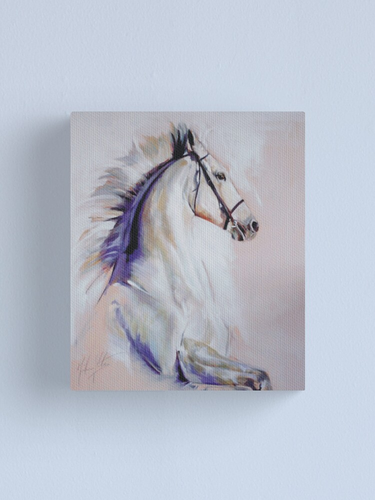 Alternate view of Equus Canvas Print