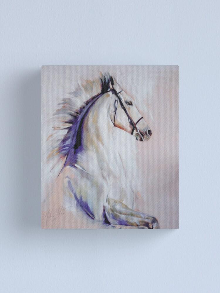 Alternate view of Equus Canvas Print