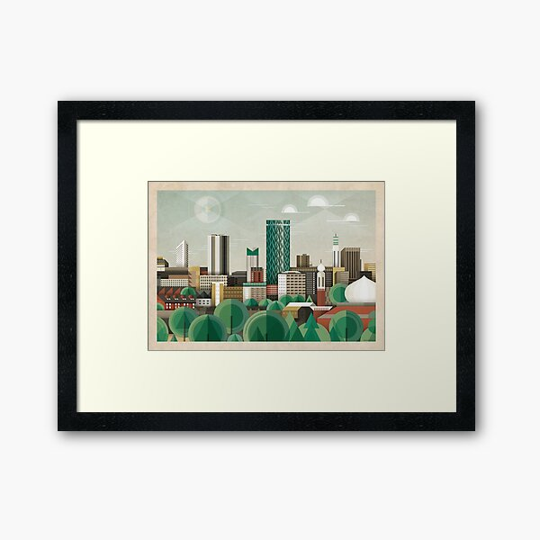 This Green City Framed Art Print