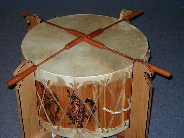 Pow Wow Drum by cap10mike
