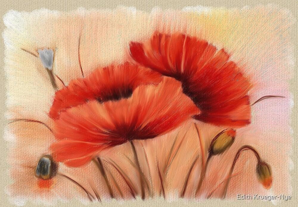 Poppies by Edith Krueger-Nye