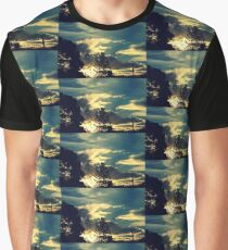 Sunset In The Suburb Graphic T-Shirt