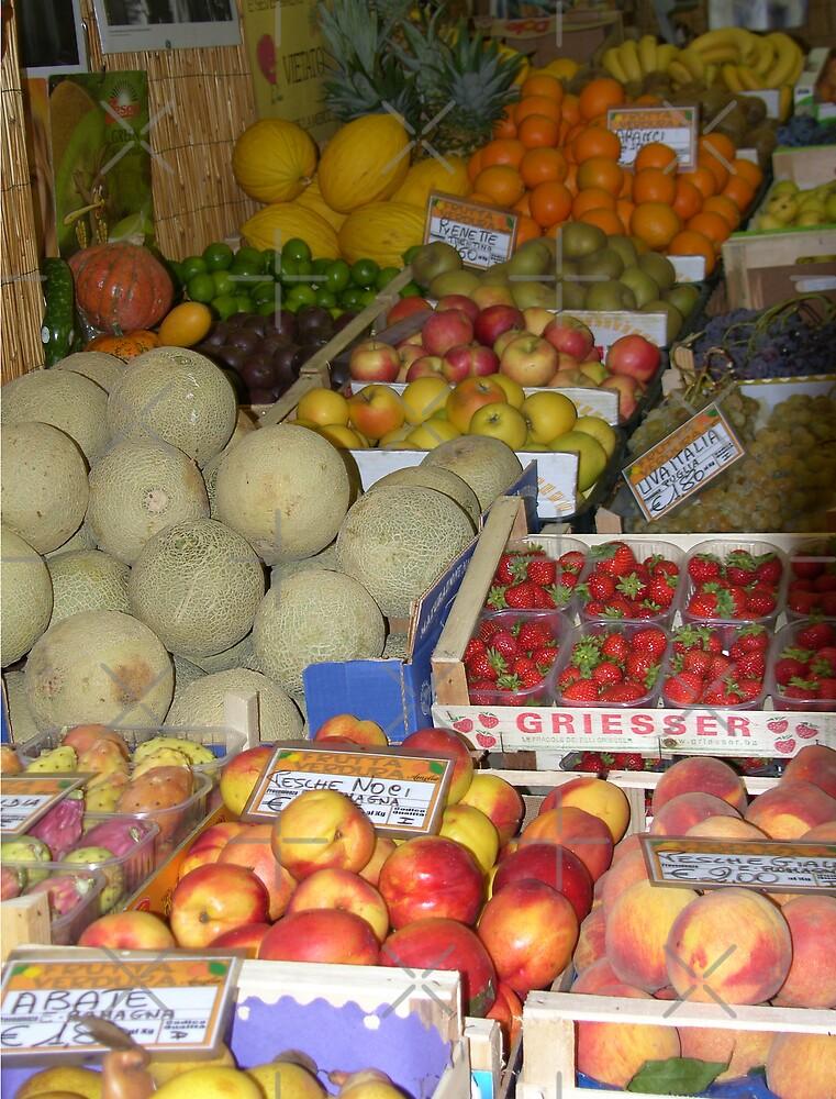 Fruit Stall by Tom Gomez