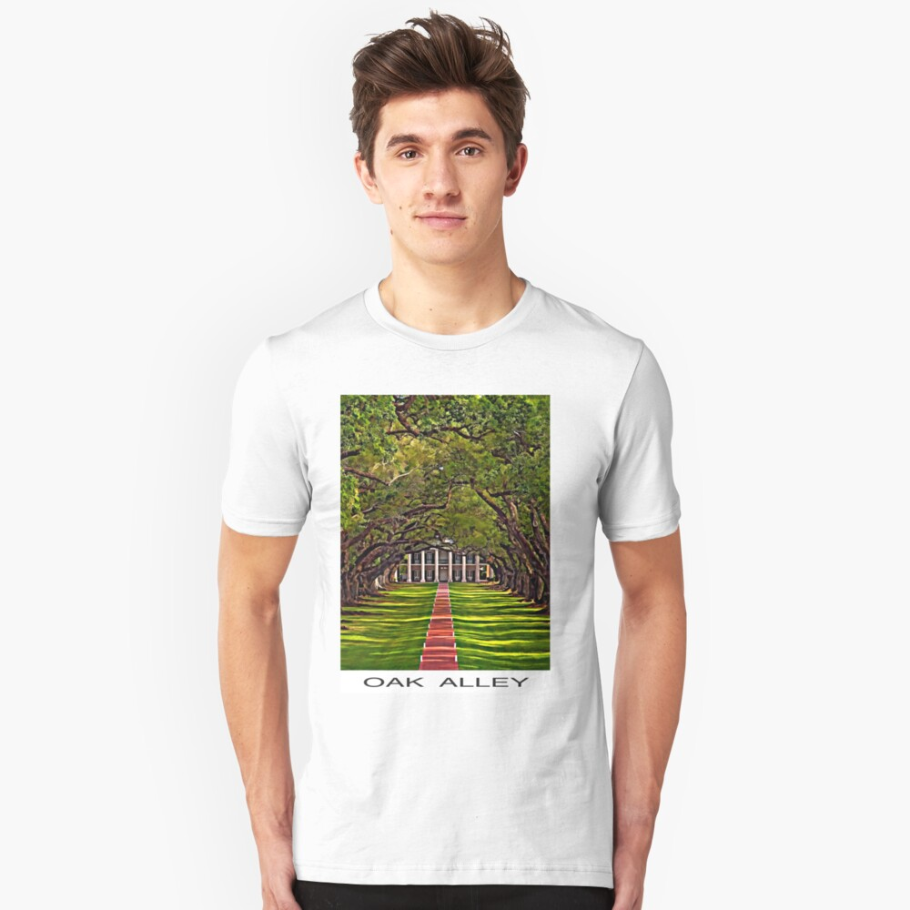 Oak Alley Plantation Unisex T-Shirt Front